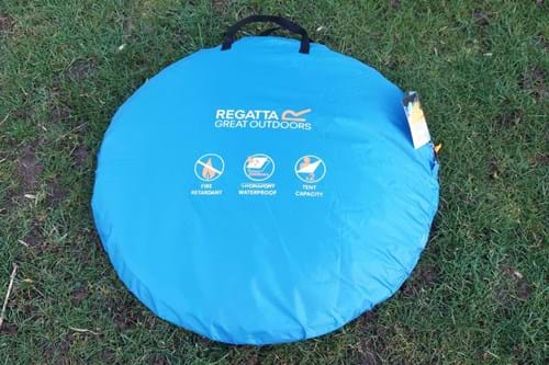 buy online a88e1 58df2 Review: Regatta Malawi 2 Pop Up Tent | Product Reviews ...